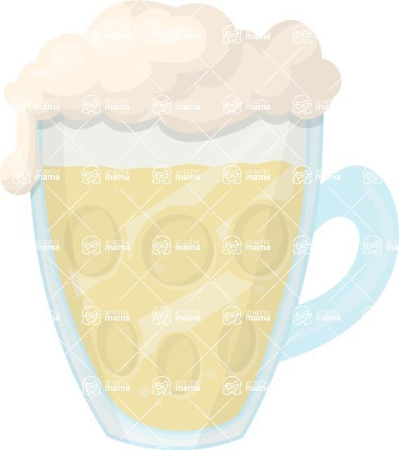 Pin Up Vectors - Mega Bundle - Beer Mug 1