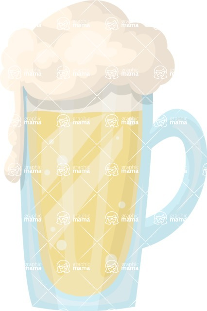 Pin Up Vectors - Mega Bundle - Beer Mug 2