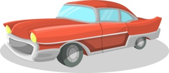 Pin Up Vectors - Mega Bundle - Vintage Chevy Car