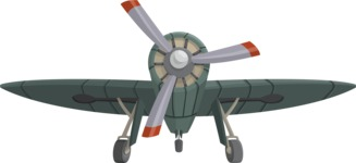 Pin Up Vectors - Mega Bundle - War Vintage Airplane