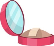 Pin Up: Glamour and Style - Compact Powder