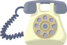 Pin Up Vectors - Mega Bundle - Dial Phone