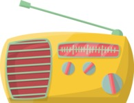Pin Up Vectors - Mega Bundle - Vintage Radio 2