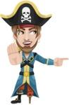Captain Austin Peg-Leg - Direct Attention 2