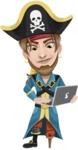 Captain Austin Peg-Leg - Laptop