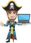 Captain Austin Peg-Leg - Laptop 2