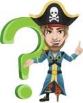 Captain Austin Peg-Leg - Question mark