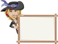 Man with Pirate Costume Cartoon Vector Character AKA Captain Jerad - Presentation 5