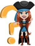 Brianna the Fearless - Question mark
