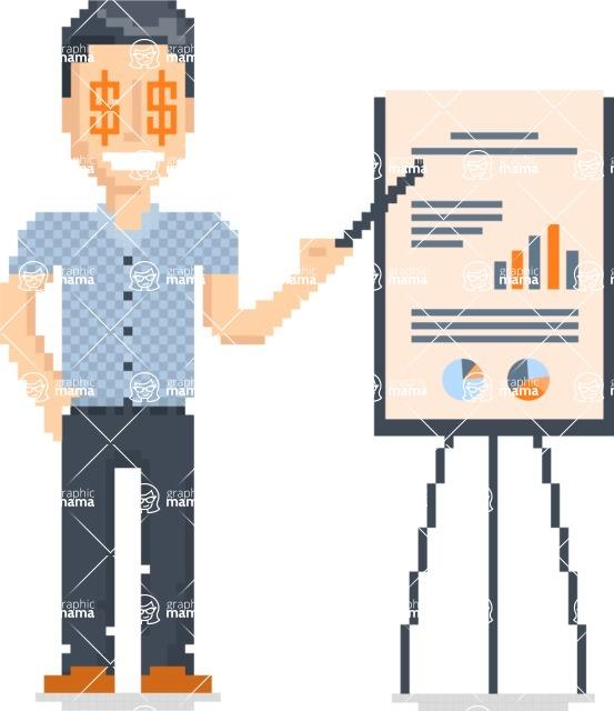 Creation Kit - Pixel Design People: The 8bit Men