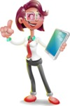 Stephanie as Miss Smarty Tie - iPad 3