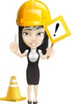 Liz the Biz Lady - Under Construction 1