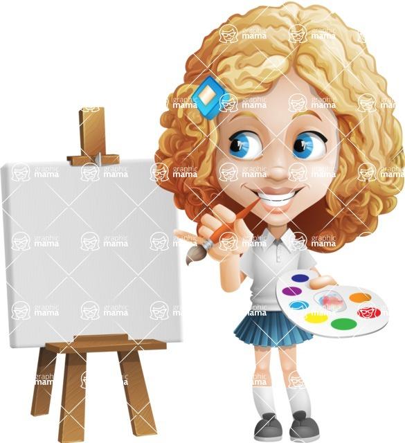 Ella Sugarsweet - Painting