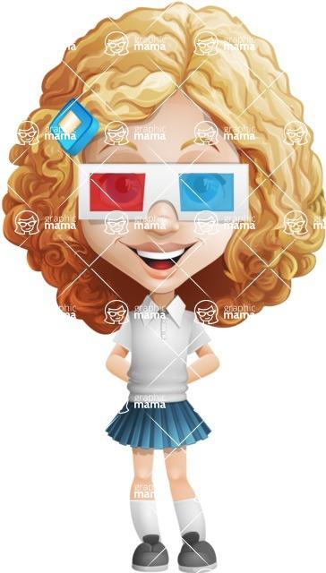 Ella Sugarsweet - 3D Glasses