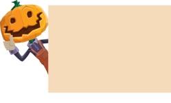 Farm Scarecrow Cartoon Vector Character AKA Peet Pumpkinhead - Making a Presentation on a Whiteboard