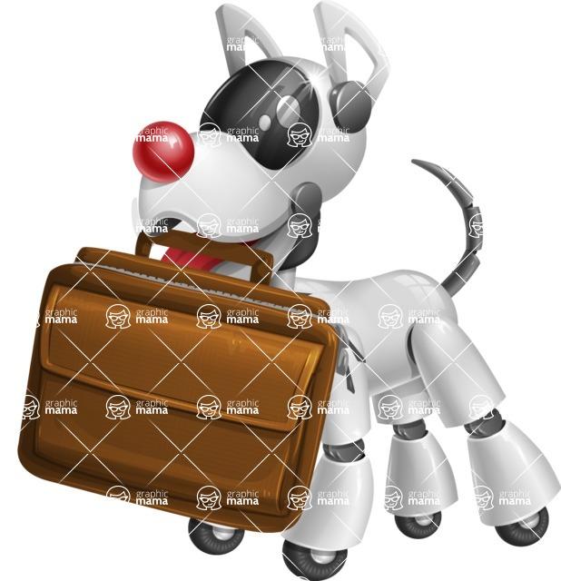 HERB aka He Eats Robo Bones - Briefcase