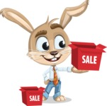Bernie the Business Bunny - Sale