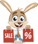 Bernie the Business Bunny - Sale 2