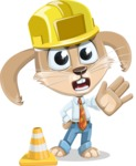 Bernie the Business Bunny - Under Construction 1