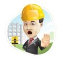 Asian Businessman Cartoon Vector Character - Shape3