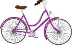 Bike Vectors Bundle - Item 7