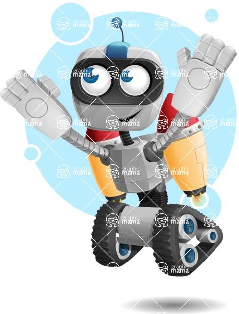 ROWAN (Robot on wheels A-class Nanotech) - Shape8