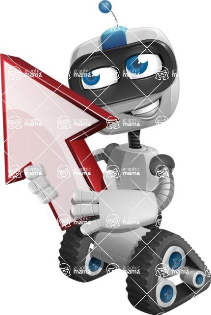 ROWAN (Robot on wheels A-class Nanotech) - Arrow