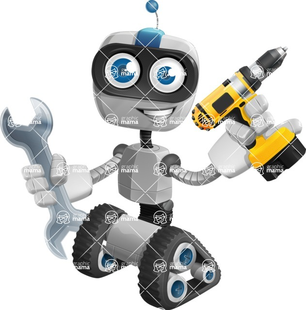 ROWAN (Robot on wheels A-class Nanotech) - Workman 1