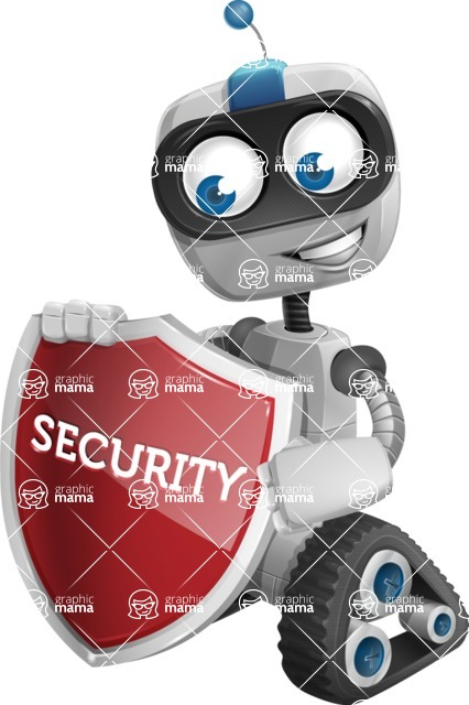 ROWAN (Robot on wheels A-class Nanotech) - Security 2