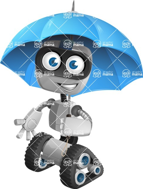 ROWAN (Robot on wheels A-class Nanotech) - Umbrella