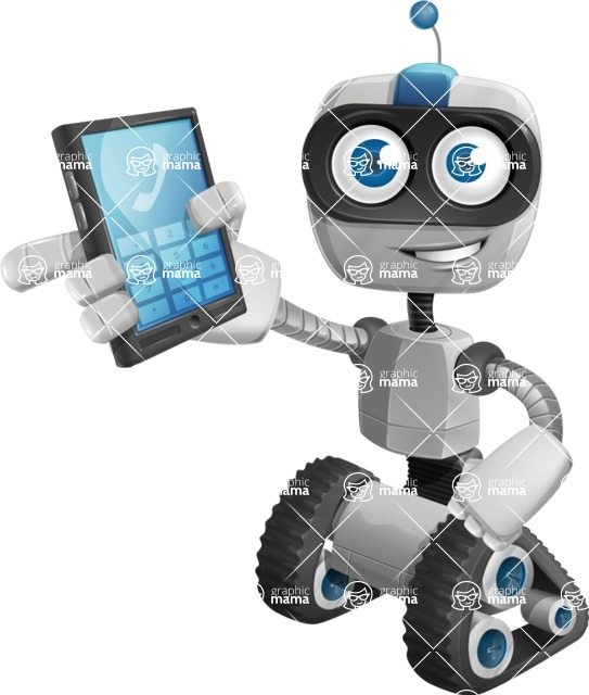 ROWAN (Robot on wheels A-class Nanotech) - Phone