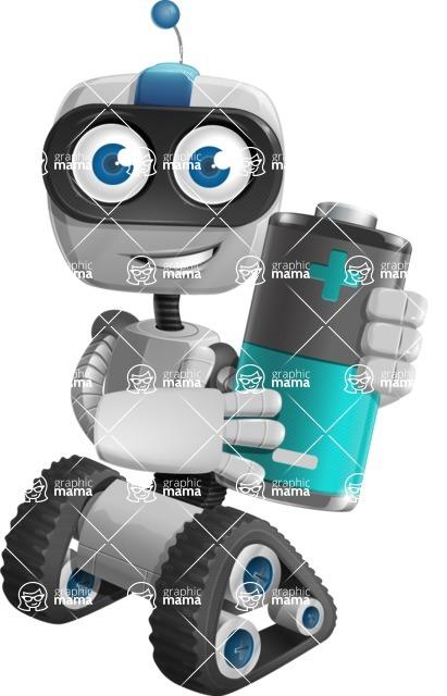 ROWAN (Robot on wheels A-class Nanotech) - Battery