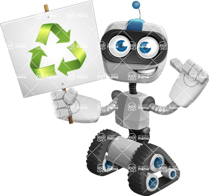 ROWAN (Robot on wheels A-class Nanotech) - Recycle