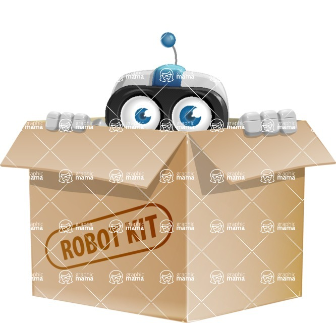 ROWAN (Robot on wheels A-class Nanotech) - Box