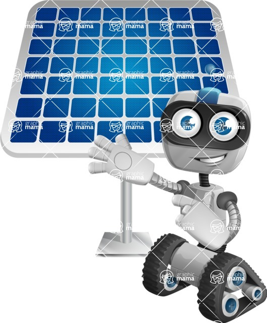 ROWAN (Robot on wheels A-class Nanotech) - Solar Panel