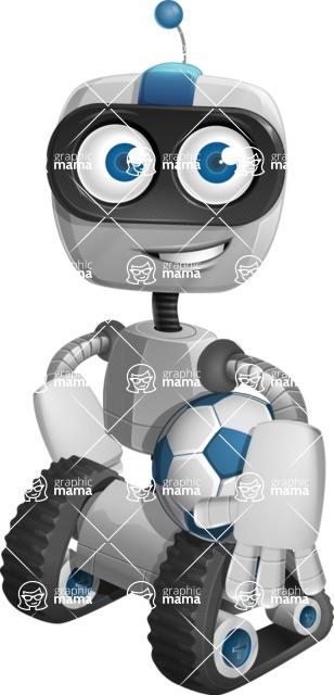 ROWAN (Robot on wheels A-class Nanotech) - Soccer