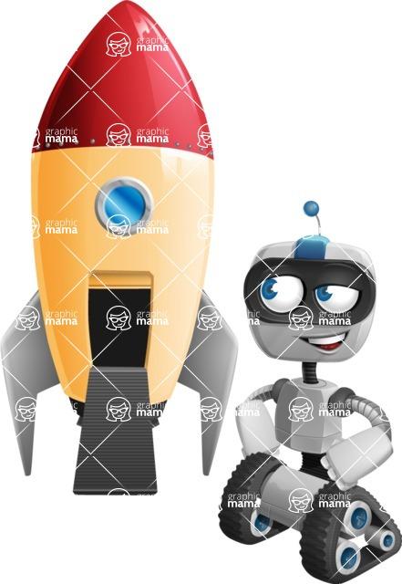ROWAN (Robot on wheels A-class Nanotech) - Rocket