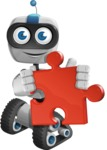 ROWAN (Robot on wheels A-class Nanotech) - Puzzle