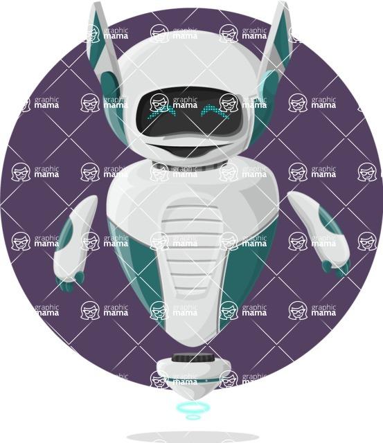 Robot Cartoon Graphic Maker - pose 1