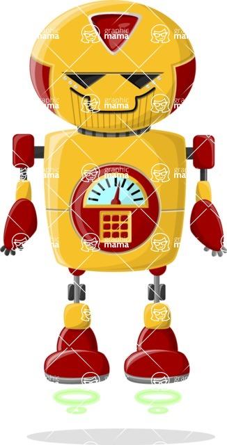 Ultra Robot - pose 12