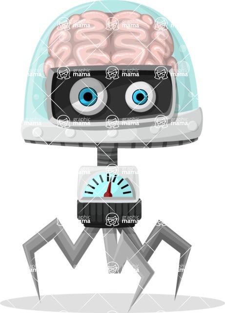 Robot Cartoon Graphic Maker - pose 13