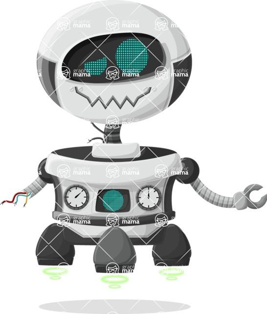 Robot Cartoon Graphic Maker - pose 17
