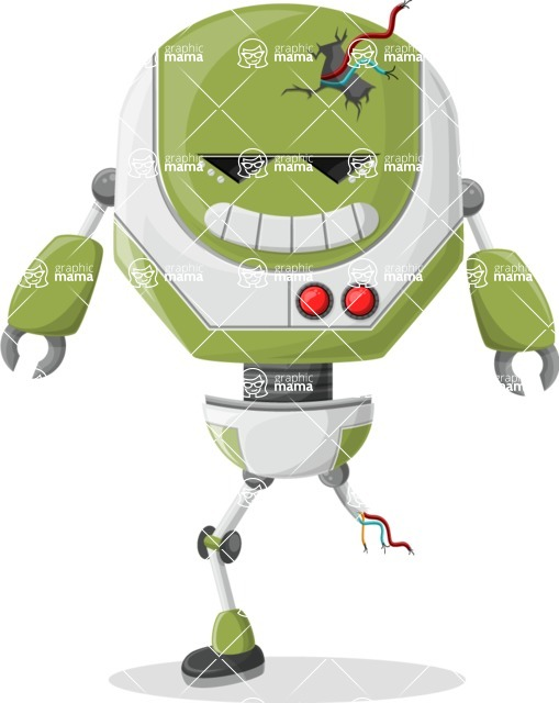 Ultra Robot - pose 19