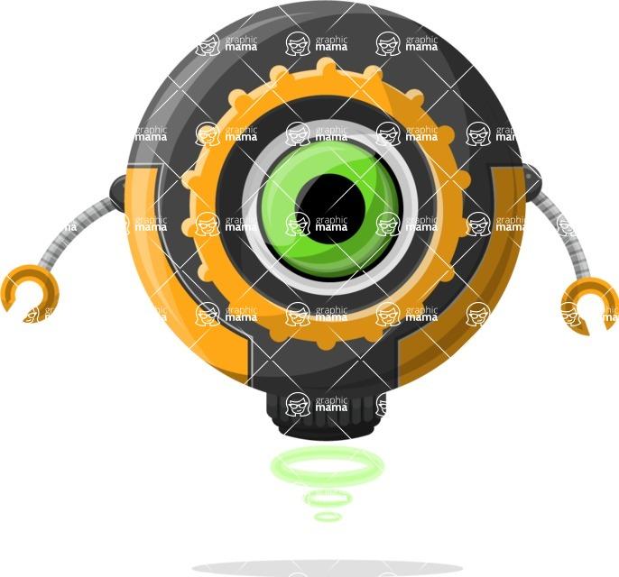 Robot Cartoon Graphic Maker - pose 20