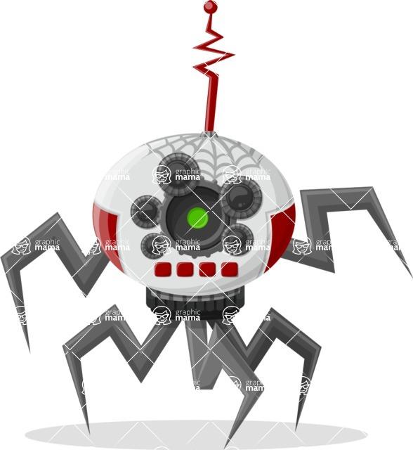 Robot Cartoon Graphic Maker - pose 23