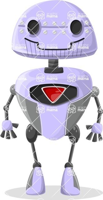 Robot Cartoon Graphic Maker - pose 24
