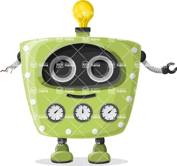 Robot Cartoon Graphic Maker - pose 27