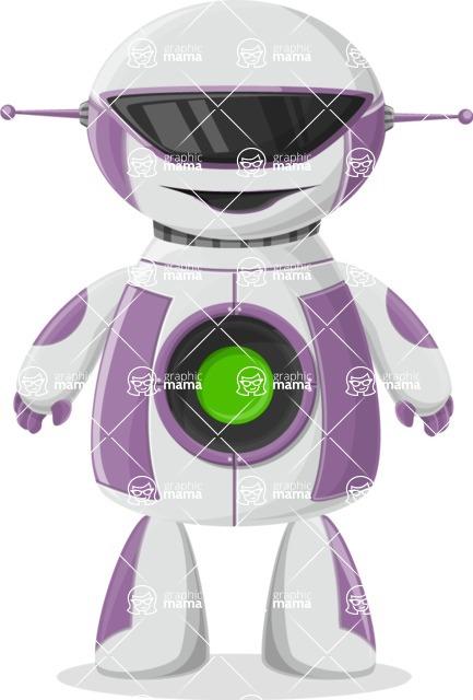 Robot Cartoon Graphic Maker - pose 30