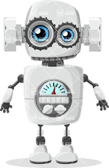 Robot Cartoon Graphic Maker - pose 31