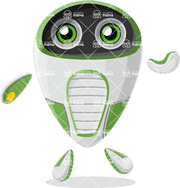 Robot Cartoon Graphic Maker - pose 41